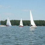 Regaty na Jeziorze Goczałkowickim