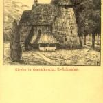 Drewniany kościółek z XIV w.