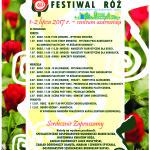 PLAKAT  festiwal róż a 4 2017