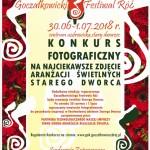 PLAKAT  festiwal róż kon foto