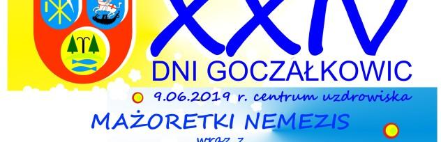 Mażoretki w Uzdrowisku 9.06.2019r.