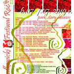 Festiwal Róż plakat 2019