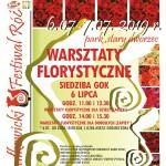 2 Festiwal Róż wrsztaty  2019